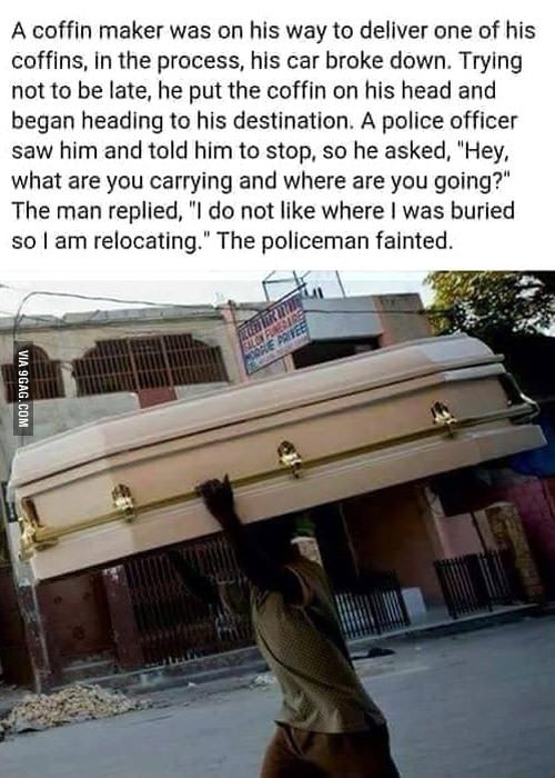 Coffin Maker - Funny