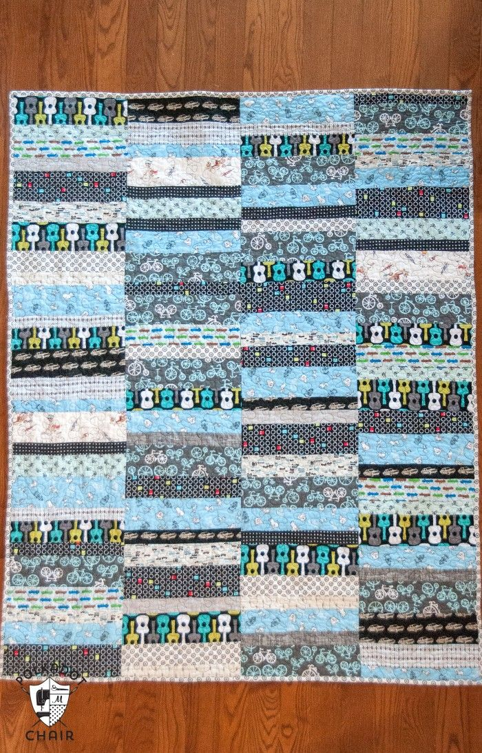 45 Beginner Quilt Patterns and Tutorials | Strip quilts, Quilt ... : quilting with strips - Adamdwight.com