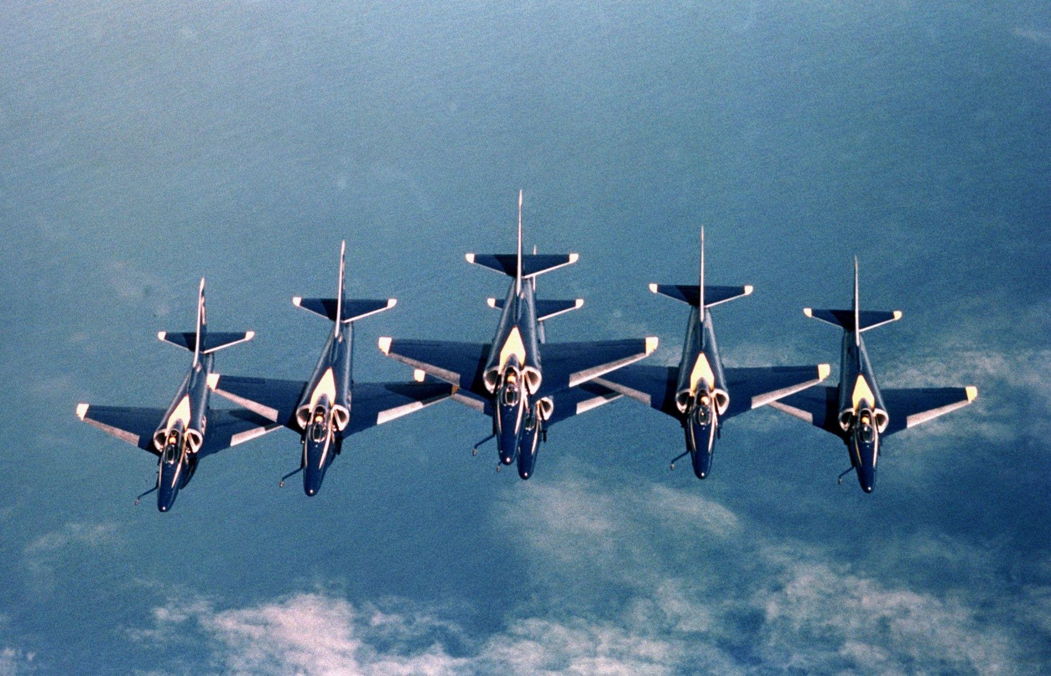 BLUE ANGEL\'S A-4 Aircraft | Aerobatics Team | Pinterest | Blue ...