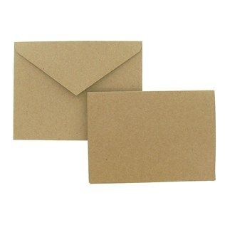 The Paper Studio 4 X 5 1 2 Kraft Note Card Value Pack Shop Hobby Lobby For Printing My Diy Invites Inexpensive Crafts Hobby Cnc Note Cards
