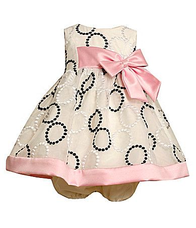 Bonnie Baby Infant EmbroideredCircle Dress #Dillards