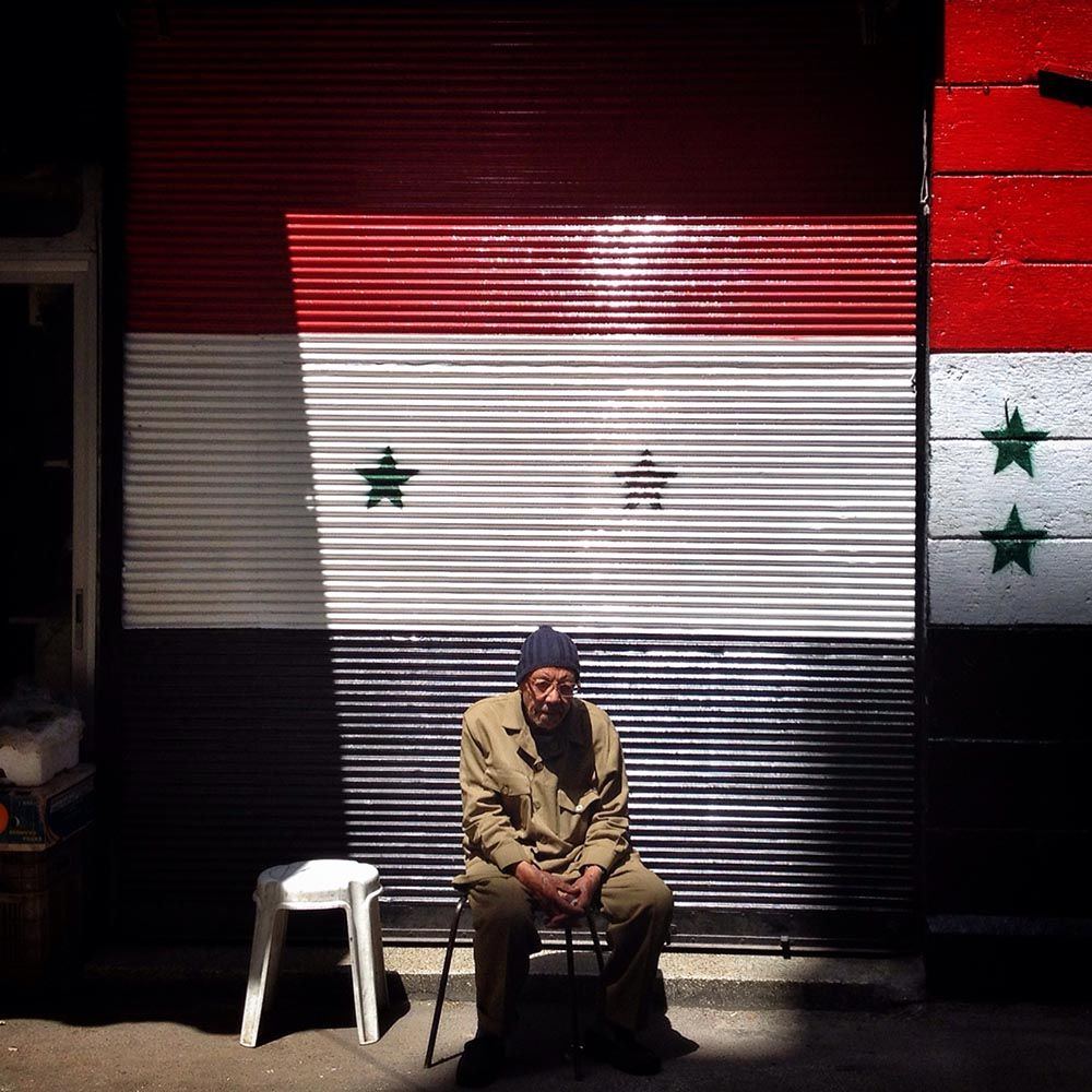 MAN IN SYRIA by Chaoyue Pan