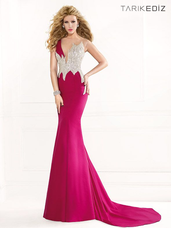 Tarik Ediz Spring/Summer 2014 Collection | Sexy lange kleider, Kleid ...