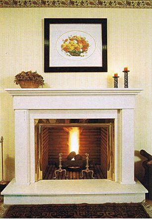 Chimenea clásica Decoración Pinterest - diseo de chimeneas para casas