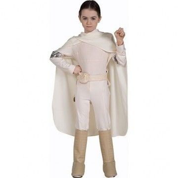 Star Wars Deluxe Padme Amidala Costume - Everyday wear for the righteous intergalactic girl.
