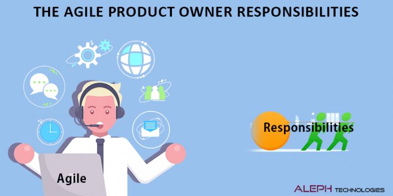 The Agile Product Owner Responsibilities Behavior Driven Development Agile Agile Software Development