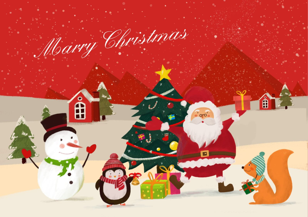 Merry Christmas Images and Happy New Year 2020 Merry
