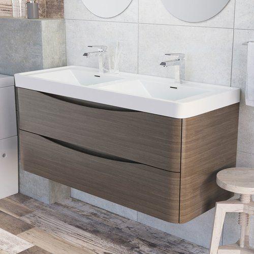 Belfry Bathroom Stanhope 1200mm Wall Mount Vanity Unit Wall