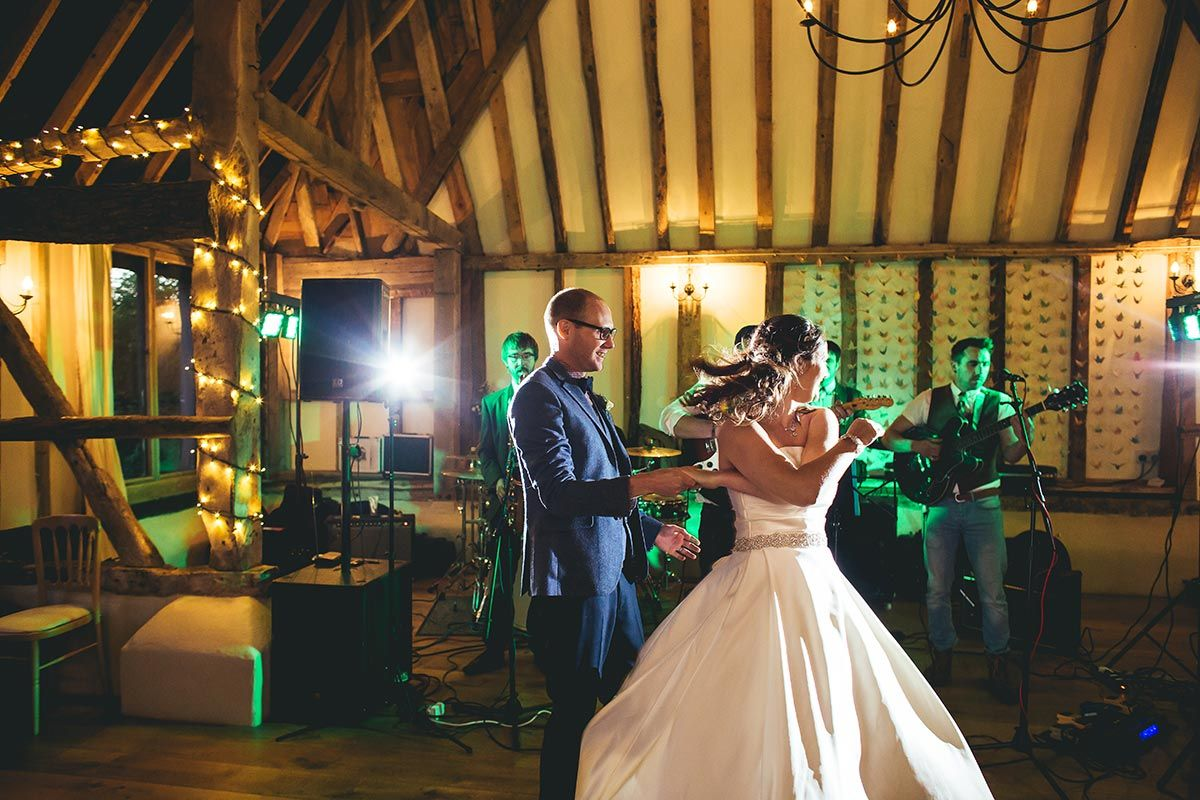 Wedding The First Dance At Clock Barn New Forest Studio