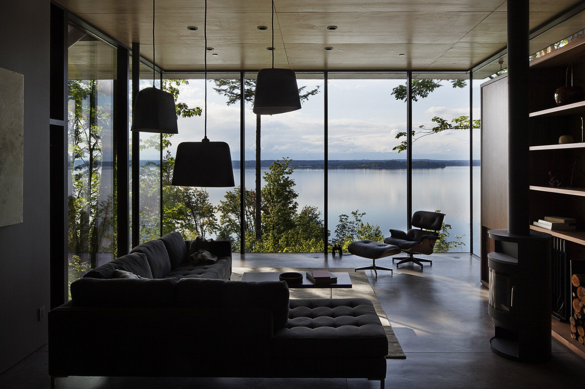 Attractive Home Design Olympia Wa Part - 5: Living Room With A View, Located Near Olympia, Washington [2000 × 1330]