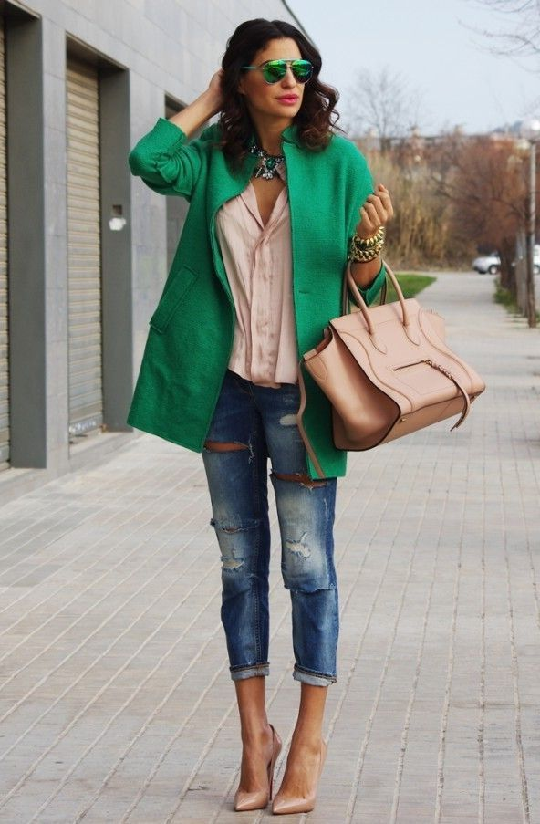 Nude Heels And Jeans 2017 Street Style | Fashion Looks | Pinterest ...