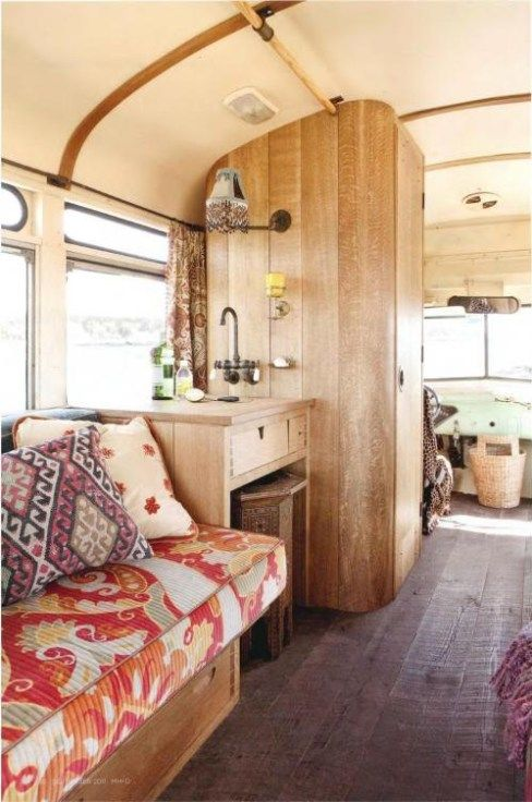 90+ Interior Design Ideas For Camper Van