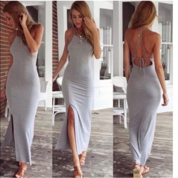 Spring dress Message with questions. Made to hit at calf! NBN Dresses