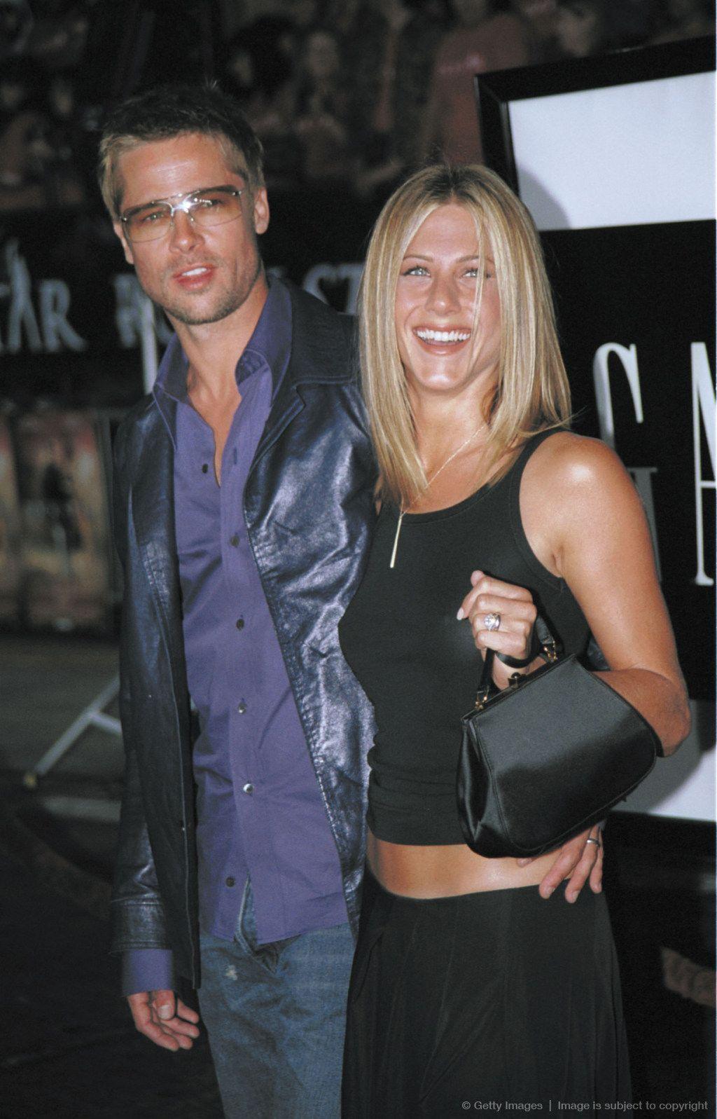 Brad Pitt and Jennifer Aniston | Celebrity, Brad Pitt ...