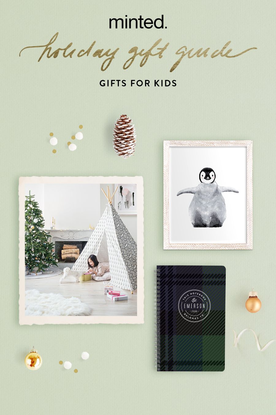 Christmas holidays Minted Holiday Gift Guide for