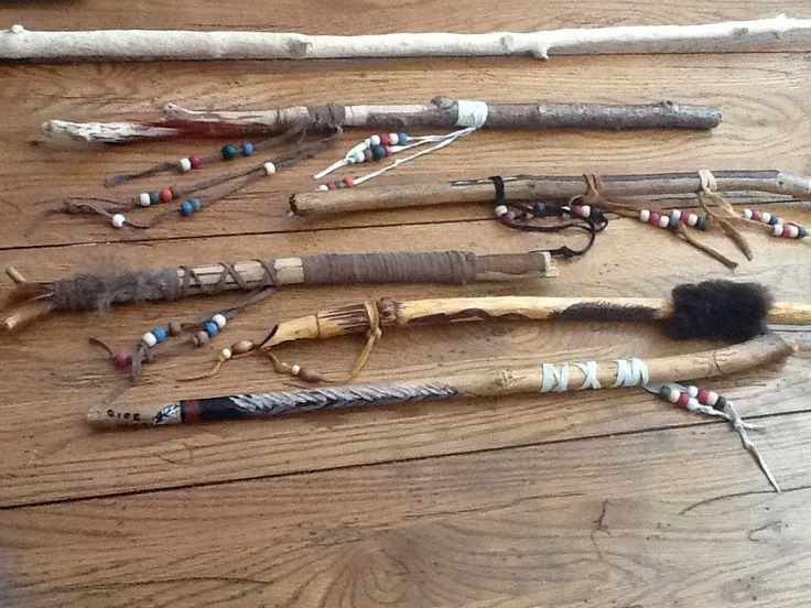 Workshop Talking Stick maken, Miranda van der Beek – De BoeddhaBoom