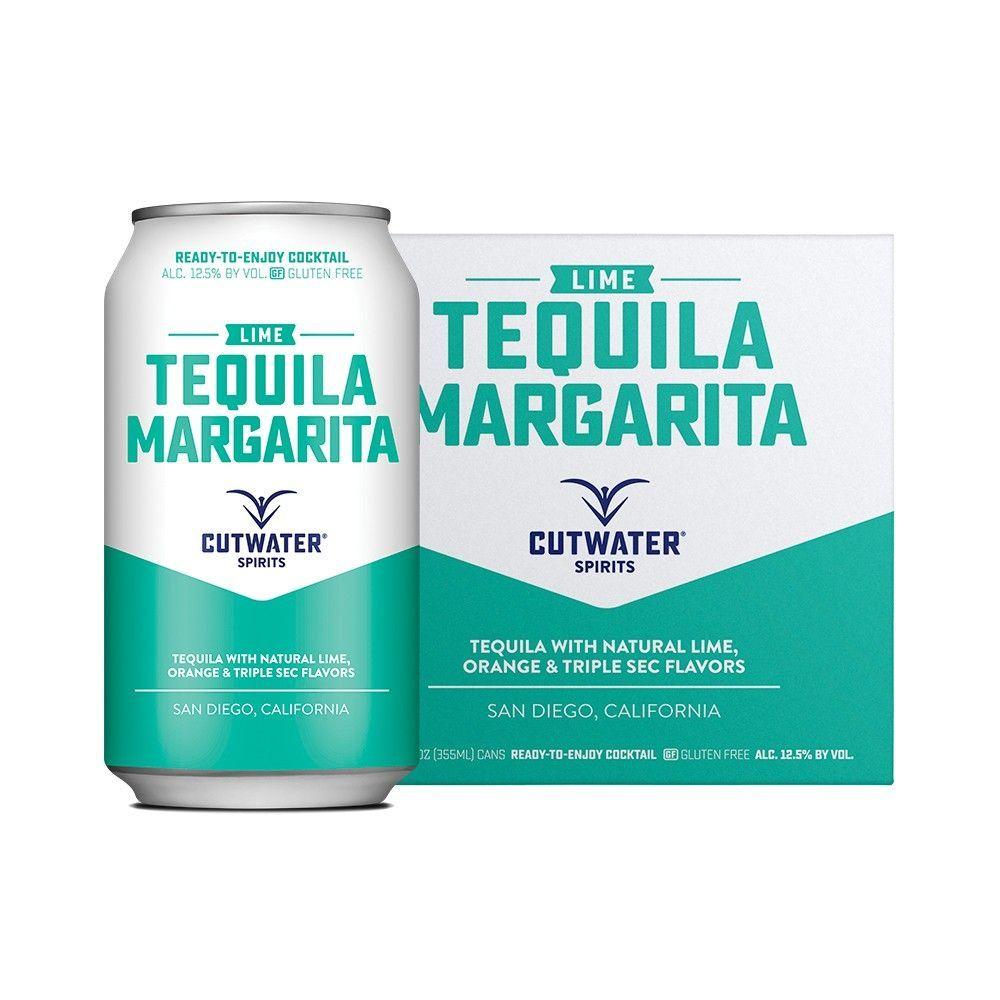 Cutwater Spirits Lime Tequila Margarita - 4pk/12 fl oz Cans #limemargarita Cutwater Spirits Lime Tequila Margarita - 4pk/12 fl oz Cans #limemargarita