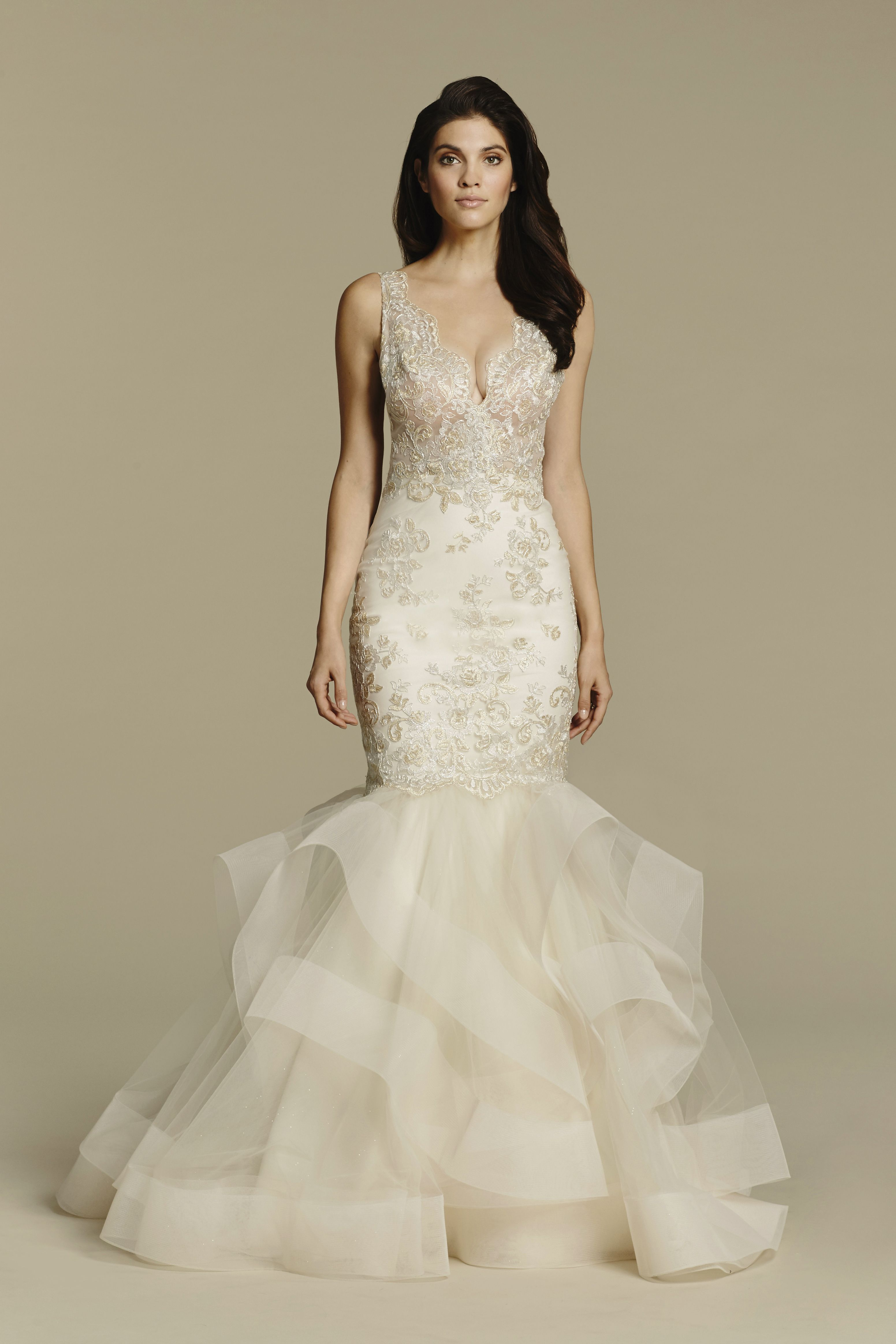 Bridal Gown, Wedding dresses by Tara Keely Style 2608 - Ivory Gold ...