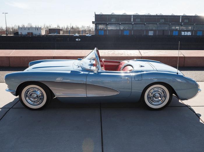 Car Porn: 1956 Chevrolet Corvette