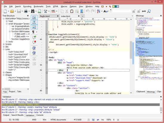 The 10 Best Free Html Editors For Web Developers Web Development Html Editor Development
