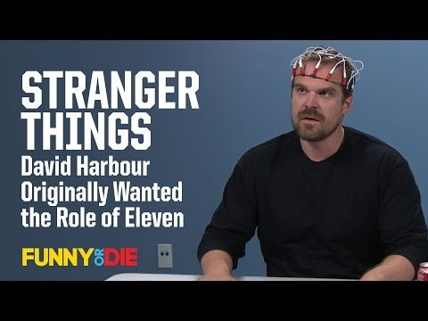 Stranger Things' David Harbour Originally Wanted the Role of Eleven - YouTube