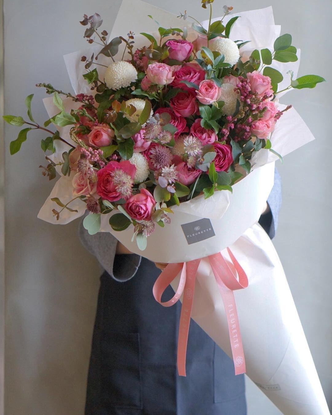 Blush Pink And Green Bridal Bouquet With Eucalyptus Wedding Flower Trends Dahlia Wedding Bouquets Dahlias Wedding