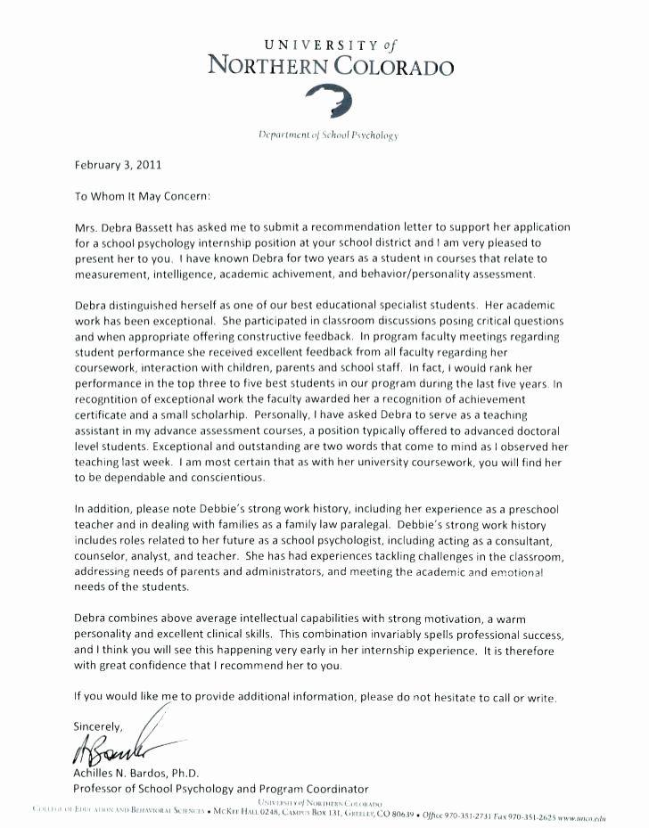 Recommendation Letter for Postdoc Luxury Cover Letter for ...