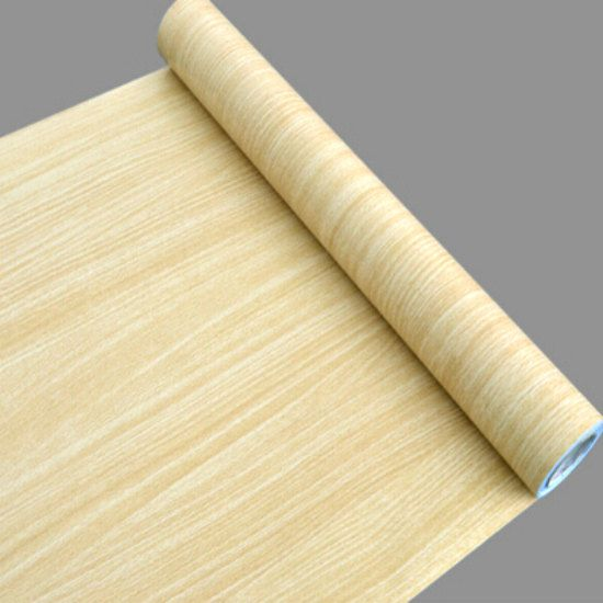 Ash Natural Wood Grain Contact Paper Shelf Liner Self