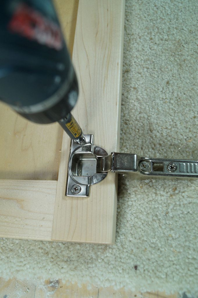 Establishing Cup Distance When Installing Euro Hinges New Cabinet Doors Woodworking Hinges