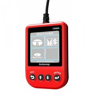 AUTOSNAP CR805 is a hand-held India Vehicle Scanner  CR805 India Car