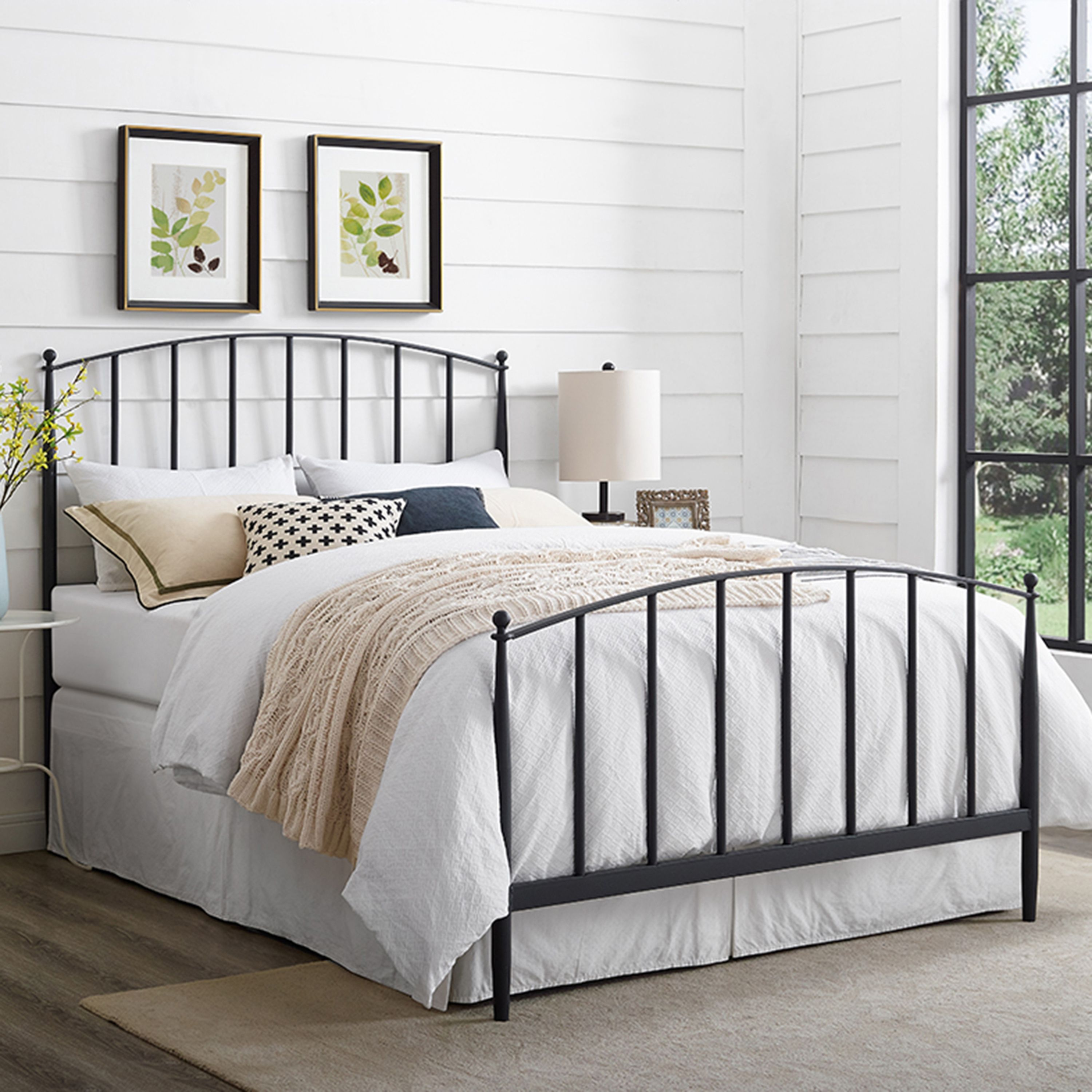 Pin On Products Metal headboard and footboard queen