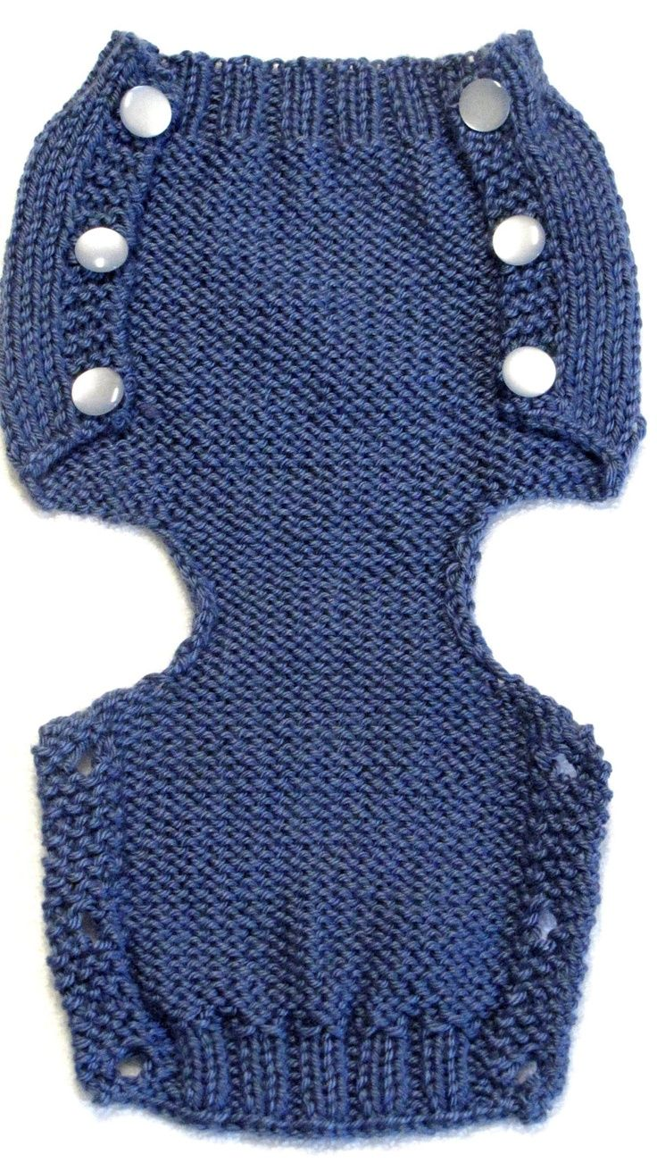 Diaper Cover Knitting Pattern - PDF - Small - Instant Download Impresionant...