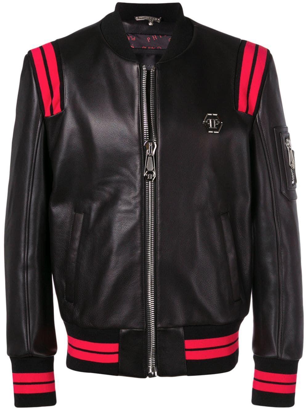 Philipp Plein Statement Jacket Farfetch Statement Jacket Designer Jackets For Men Patterned Bomber Jacket [ 1333 x 1000 Pixel ]
