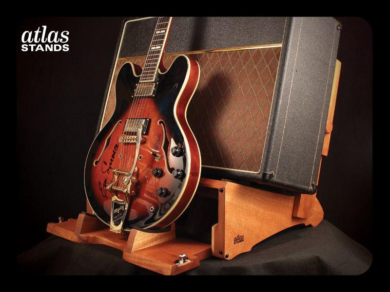 Atlas stands custom hardwood amplifier and guitar stands