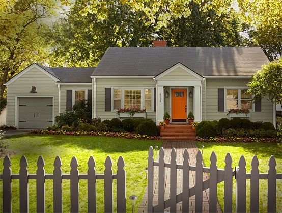 Small House Exterior Paint Colors Paint Colors For My Cottage On ...
