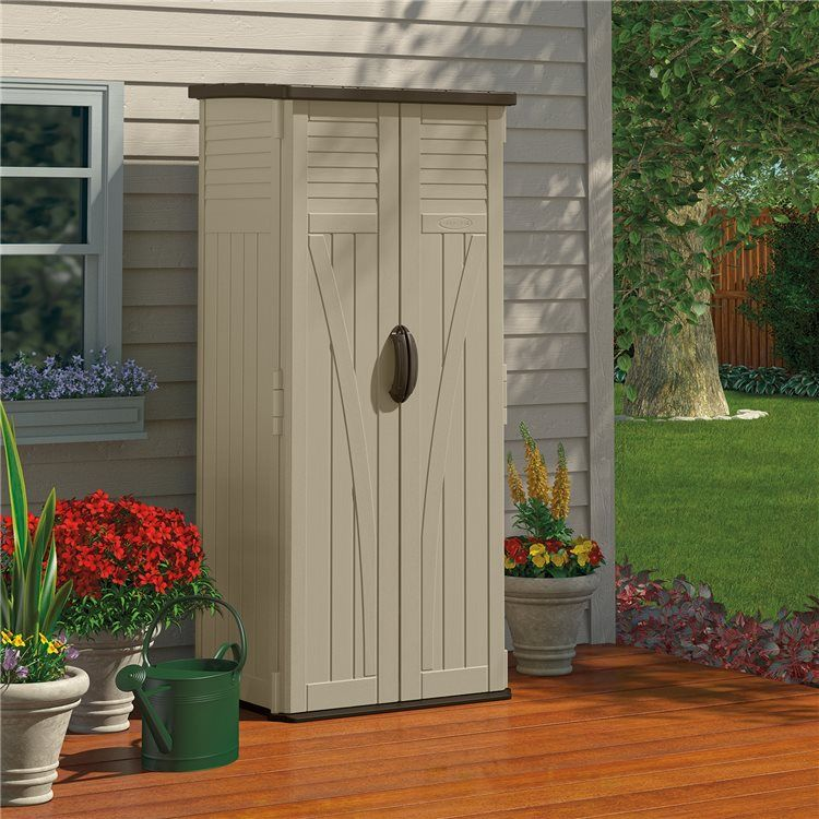 BillyOh Suncast Vertical Storage Shed | Love Garden Sheds | Pinterest