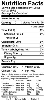 Green Soybeans Edamame With Images Nutrition Facts Nutrition Omaha Steaks