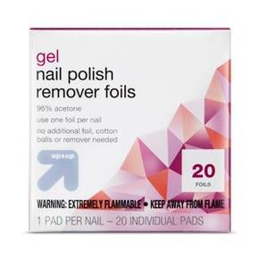 Gel Nail Polish Remover Pads 20 ct - up & up™ : Target | Nail ...