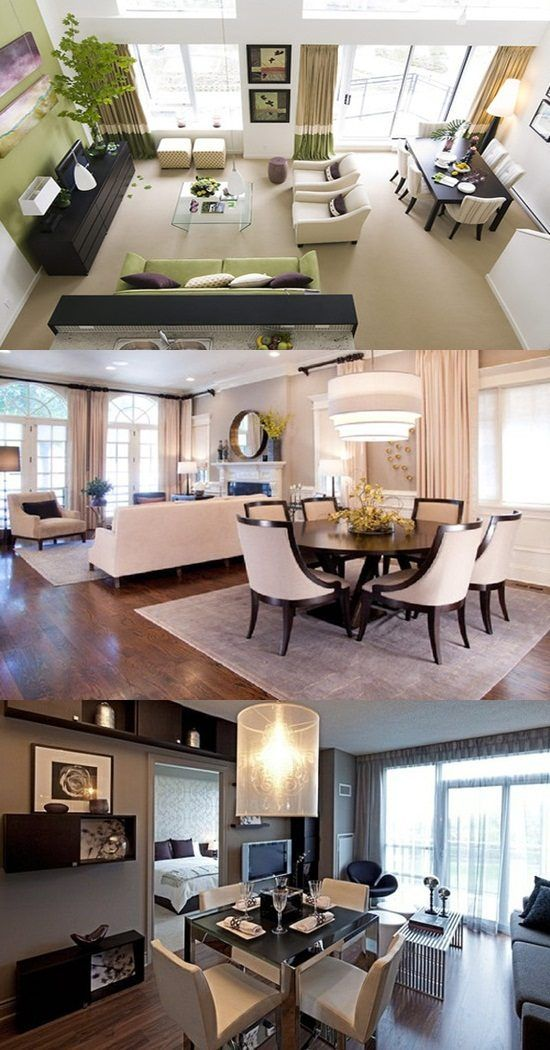 Perfect Ways To Decorate A Living Room With Dining Area Attached