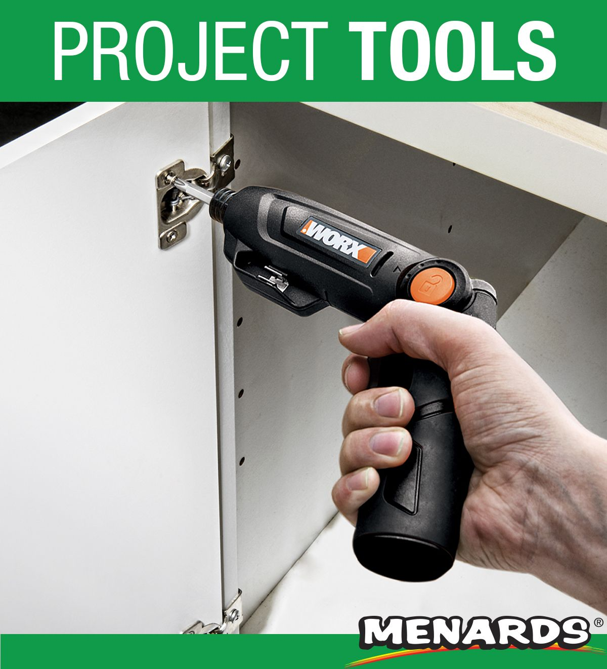 This Tool Is Perfect For Small Projects The Worx Cordless Screwdriver Has A Three Position Handle Lets You Drive At A Tools Power Drills Cordless Screwdrivers