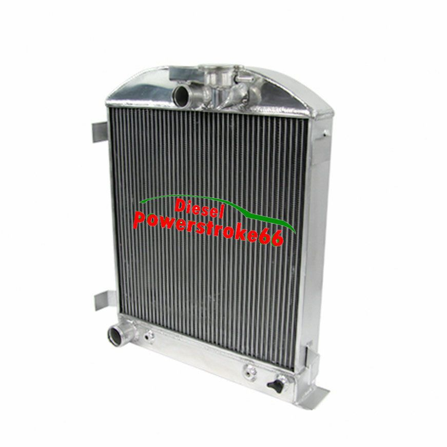 4 Row Core Aluminum Radiator For 1932 Ford Hi Boy Hot Rod Gm V8 Engine Dp66 Aluminum Radiator 1932 Ford Cars Trucks