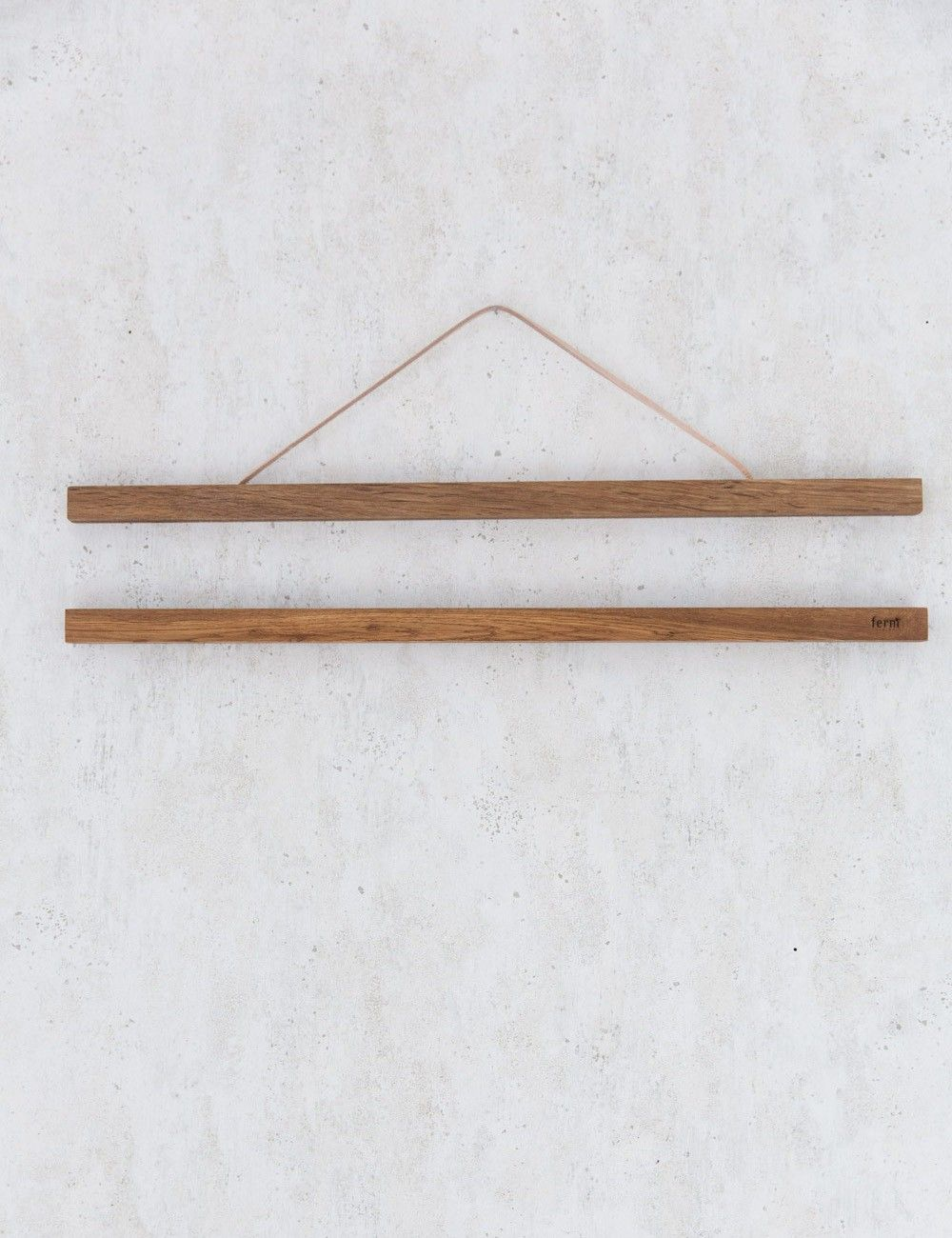 Attractive Smoked Oak Hanging Poster Frames By Ferm Living
