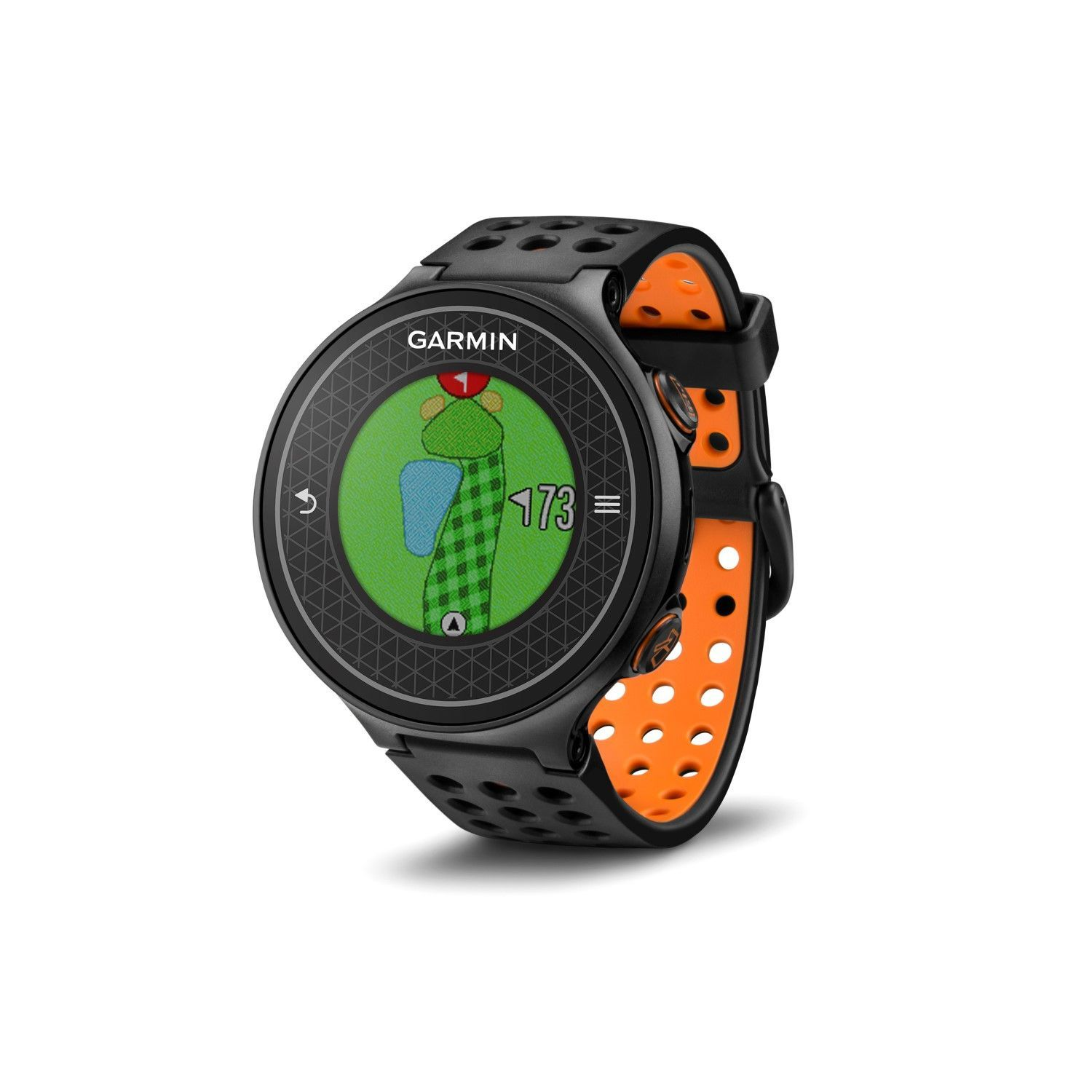 Garmin Approach S6 GPS Golf Watch Black/Orange