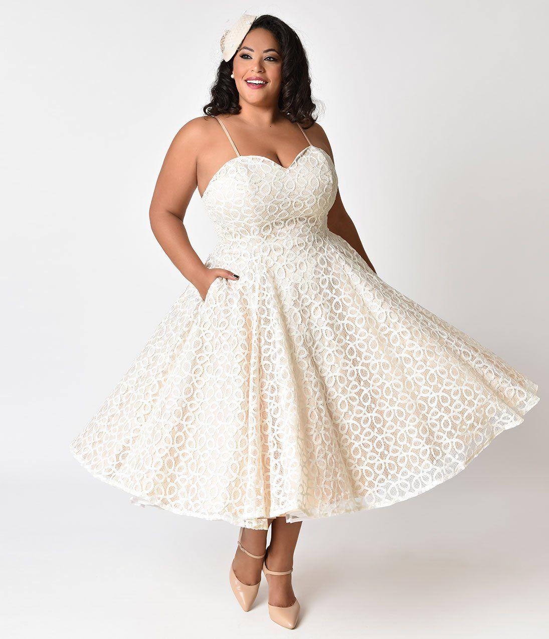 1950s Plus Size Dresses, Clothing | Plus size dresses ...
