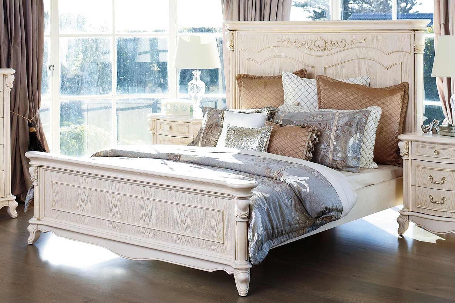 Chateau Queen Bed Frame by Sorensen Furniture Harvey