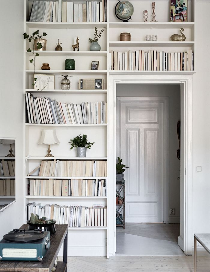 Interiors future home Pinterest Interiores suecos, Librerías y