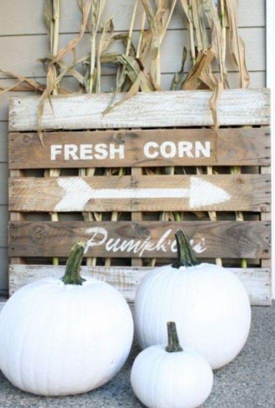 außendeko veranda elegante ideen für herbstdeko weiß -- Outdoor - herbst deko ideen fur ihr zuhause