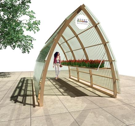 Biologische kas van Moost architectuurwerkplaats Hilversum