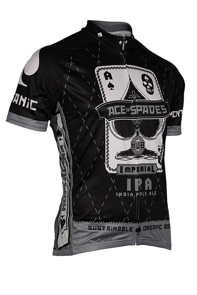 Retro Imperial Beer Cycling Jersey Short Sleeve Cycling Jersey
