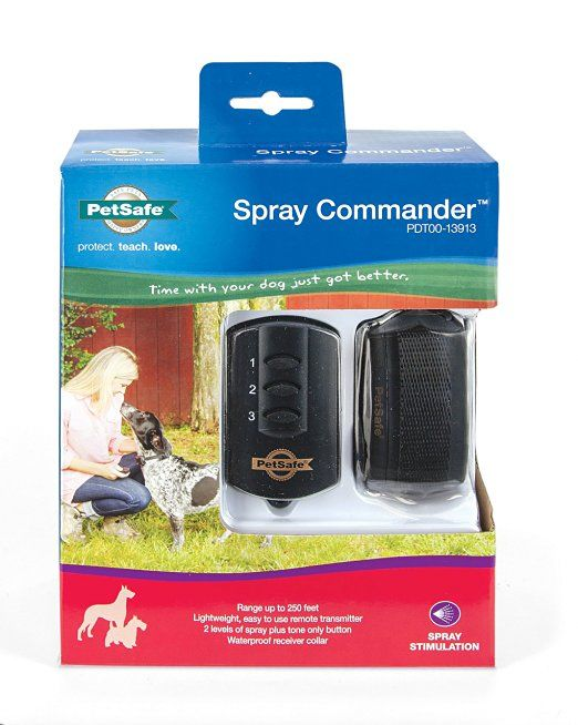 Amazon Com Petsafe Spray Commander Dog Training Collar Pet